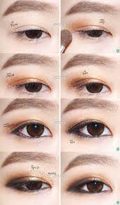 tutorial make up mata sipit ala korea 144 best makeup tutorials images on pinterest asian makeup korean