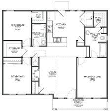 modern home floor plans simple 3 bedroom floor plans small 2 3 bedroom house plans