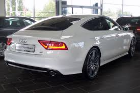 File Audi A7 Sportback 3 0 Tdi Quattro S Tronic Ibisweiß Heck Jpg