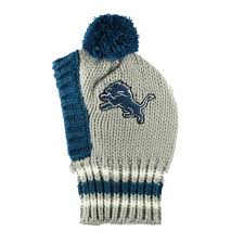 Detroit Lions Home Decor by Detroit Lions Knit Dog Hat With Same Day Shipping Baxterboo