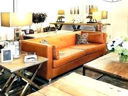 Leather Sofa Co Orange Leather Veneziacalcioa5