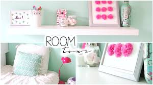 Seafoam Green And Coral Bedroom Room Tour Mint Pastel Bedroom Youtube