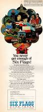 Six Flags Coupon Book You Never Get Enough Of Six Flags Over Texas 1971 Click Americana