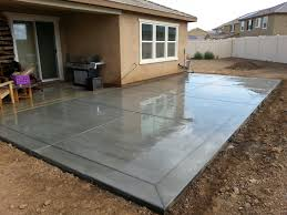 Stain Old Concrete Patio by Broom Finish Concrete Patio Slab With 12