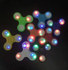 a light up fidget spinner 2017 newest light up hand spinners led bright fidget spinner