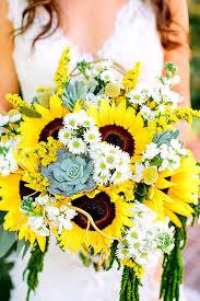 Wedding Flowers For September Best 25 Sunflower Bouquets Ideas On Pinterest Sunflower Wedding