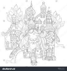 vector cute princess fairy wings stock vector 397395814