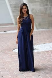 navy crochet maxi dress with open back navy bridesmaid dress
