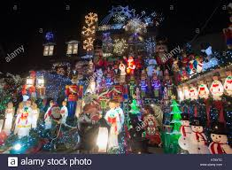 dyker heights christmas lights tour 2017 brooklyn new york usa 21st dec 2017 houses in the dyker heights