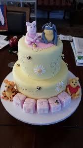 winnie the pooh baby shower cakes winnie the pooh babyshower cake