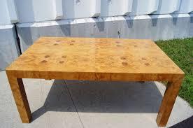 milo baughman dining table milo baughman dining table burlwood dining table milo baughman for