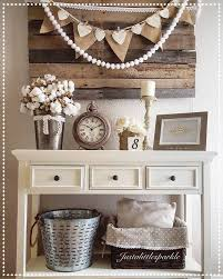 Decorating Entryway Tables Best 25 Rustic Entryway Ideas On Pinterest Hall Table Decor