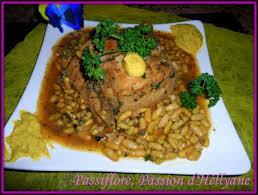 cuisiner des flageolets secs recette rôti de porc flageolets 750g