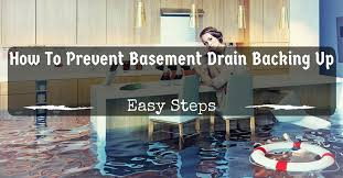Water Coming Up From Basement Drain by How To Prevent Basement Drain Backing Up Easy Steps