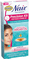 moroccan argan oil precision kit for face and upper lip hair