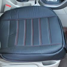 nissan almera leather seat universal black car front seat cover breathable pu leather seat