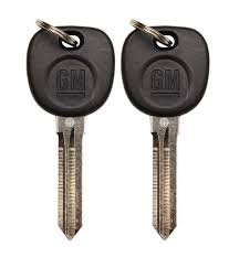 lexus gs300 key 2 new oem gm key by strattec 23372322 15824471 15921351 20985619