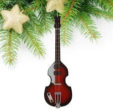 miniature wooden mandolin tree ornament miniature