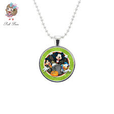 jewelry party favors minnie mouse necklace animal jewelry chain mickey