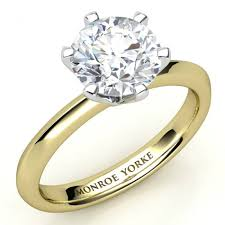 solitaire rings gold images Calais one carat special yellow gold gia certified solitaire ring jpg