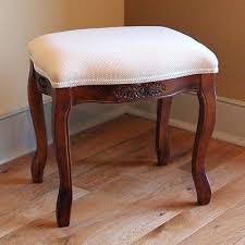 vanities round upholstered vanity stool upholstered skirted