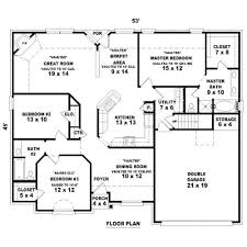 2 bedroom 2 bathroom house plans excellent simple 3 bedroom 2 bath house plans images best ideas