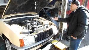 opel rekord 1985 motore opel rekord e1 2 3 diesel youtube