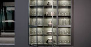 glass kitchen cupboard shelves how to display your kitchen glassware kitchen magazine