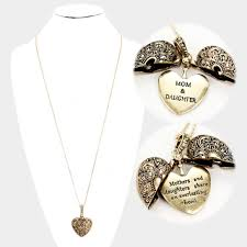 mothers day jewlery mothers day jewelry filigree heart locket pendant