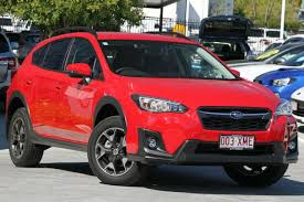 red subaru crosstrek 2017 subaru xv cool grey khaki constant variable 672km qld