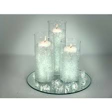 Floating Candle Centerpiece Ideas Small Tri Gel Floating Candle Centerpiece Polyvore