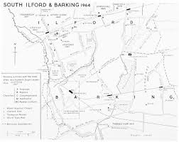 Essex England Map by The Borough Of Ilford British History Online