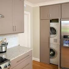 laundry in kitchen an outdated apartment kitchen gets a whole new look laundry rooms