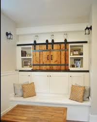Barn Door Cabinets How To Incorporate Your Tv Into Your Home Decor Chagne