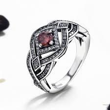 finger rings silver images 925 sterling silver punk weave infinity finger ring geometric jpg