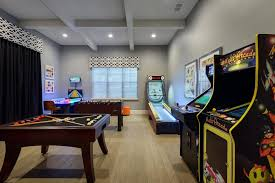 Media Game Room - diy garage playroom game room ideas detached with bonus plans play