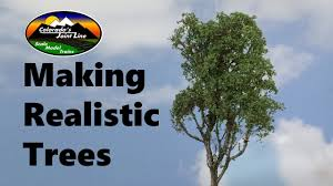 how to make realistic trees layouts wargamming dioramas