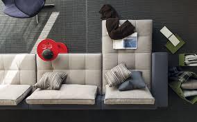 canap lounge canapé modulable d angle contemporain en tissu lounge mix by