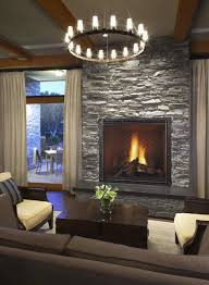 gas fireplace with stone home design inspirations