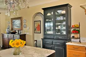 kitchen china cabinet glamorous buffet hutch in kitchen traditional with china cabinet