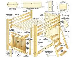 Woodworking Plans For Beds With Storage by Best 25 Bed Plans Ideas On Pinterest Bed Frame Diy Storage