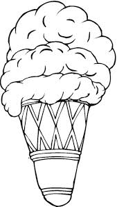 coloring page cone cone coloring pages foods coloring pages of