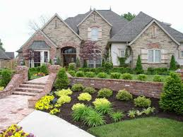 winning landscape ideas for ranch style home backyard landscaping