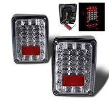 Jeep Tj Led Tail Lights Jeep Wrangler Jk Tail Lights Jk Jeep Tail Light Replacements
