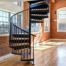 Wooden Spiral Stairs Design Wood Spiral Stair Houzz Spiral Staircase Design Exle Of A