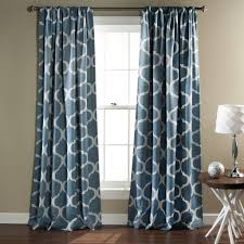 Blackout Window Treatments Geo Room Darkening Window Curtain Set Lush Decor Www Lushdecor Com