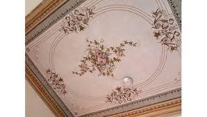 soffitti dipinti dipinti restauro pittorico soffitto ocrarossa