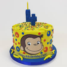 curious george birthday cake gallery cakes cake in cup ny