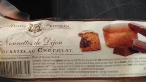 atelier cuisine dijon nonnettes de dijon fourrées au chocolat mulot petitjean