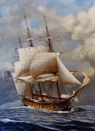 Us Flagged Merchant Ships Uss Constellation 1797 Wikipedia